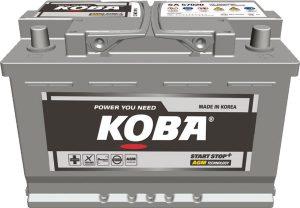 KB AGM Battery