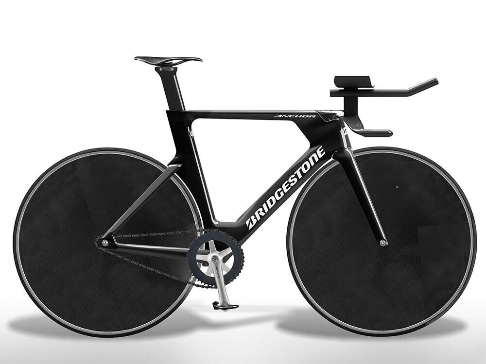 Bridgestone has developed new track bicycles that will be used in cycling events by Team Japan at the Olympic Games Tokyo 2020.